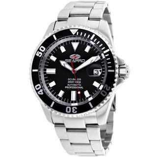 Seapro Men's Stainless Steel Scuba 200 Watch|https://ak1.ostkcdn.com/images/products/9218851/P16387716.jpg?impolicy=medium
