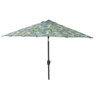 Exceptional Pillow Perfect Omnia Lagoon 9 Foot Patio Umbrella