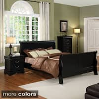 Furniture of America Mayday Paneled Sleigh Bed