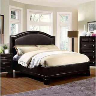 Furniture of America Pigh Transitional Espresso Platform Bed