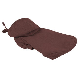 Pet Life Brown Hooded Pet Sweatshirt
