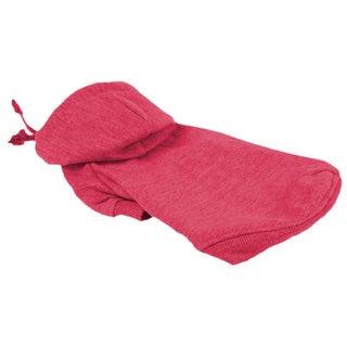 Pet Life Pink Hooded Pet Sweatshirt