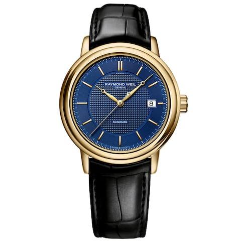 Raymond Weil Men's 2837-PC-50001 Maestro Leather Watch