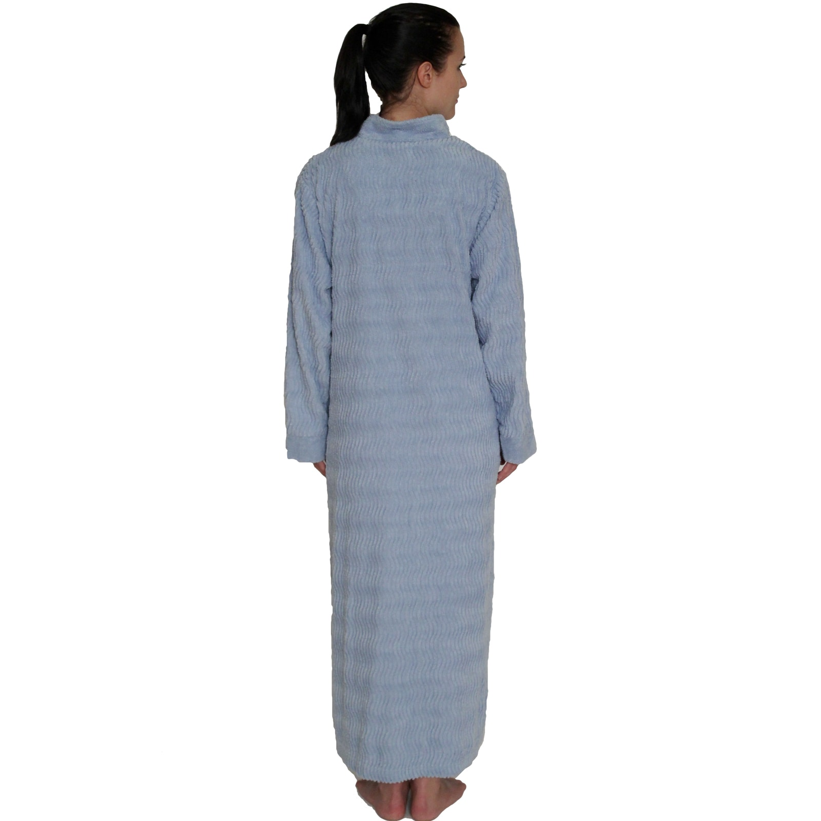 huge selection of brand quality structural disablities NDK New York Women's Cozy Zipper Front Cotton Chenille Robe