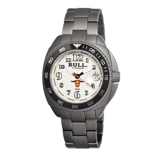 Bull Titanium Men's Matador White Titanium Grey Analog Watch