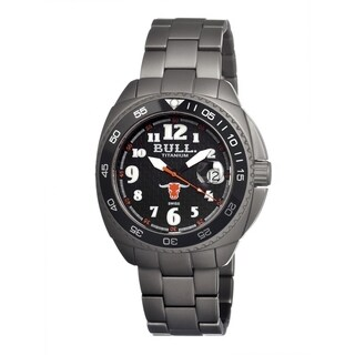 Bull Titanium Men's Matador Black Titanium Grey Analog Watch
