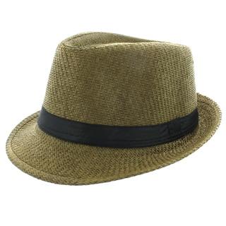 Faddism Olive Green Fedora Hat