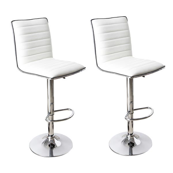 Fine Shop Adeco Adjustable Height Swivel Bar Stool Set Of 2 Gmtry Best Dining Table And Chair Ideas Images Gmtryco