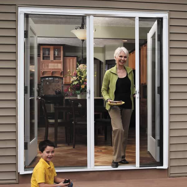 Shop Brisa Bronze Double Screen Door - Free Shipping Today