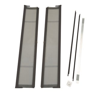 Brisa Bronze Double Screen Door