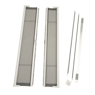 Brisa White Double Screen Door