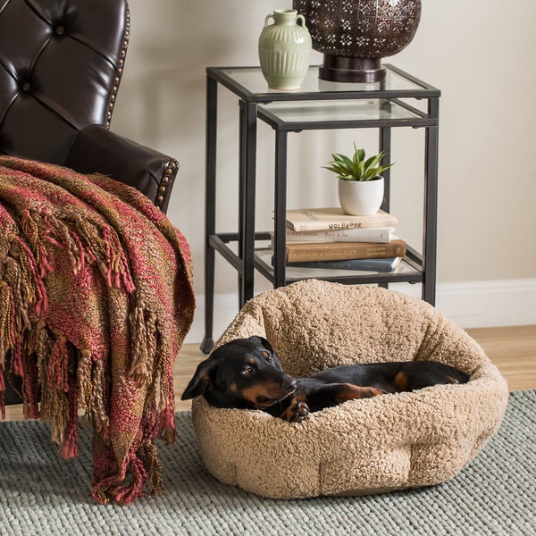 Best Friends by Sheri OrthoComfort Sherpa Deep-dish Cuddler Dog Bed
