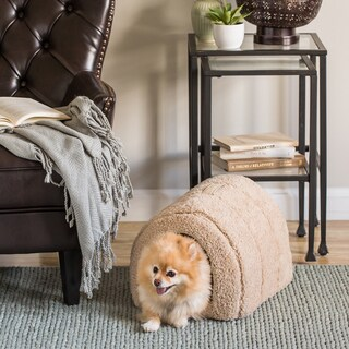 Best Friends by Sheri Igloo Sherpa Cat/ Dog Bed