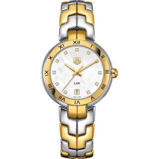 "Tag Heuer ""Link"" Women's WAT1353.BB0962 Two-Tone Stainless Steel Bracelet Watch"