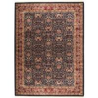 Herat Oriental Indo Hand-knotted Mahal Wool Rug - 9' x 12'1
