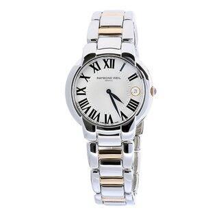 Raymond Weil Women's 2935-S5-01659 Jasmine Automatic Watch https://ak1.ostkcdn.com/images/products/9219292/P16388048.jpg?impolicy=medium