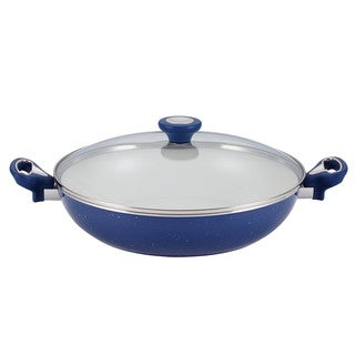 Farberware New Traditions Speckled Aluminum Nonstick 12-1/2-inch Covered Skillet with Side Handles (3 options available)
