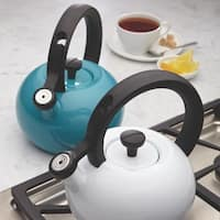 Circulon Sunrise Enamel/Steel 1.5-quart Teakettle