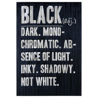 Sunpan 'Ikon' 'Black Defined' Canvas Art