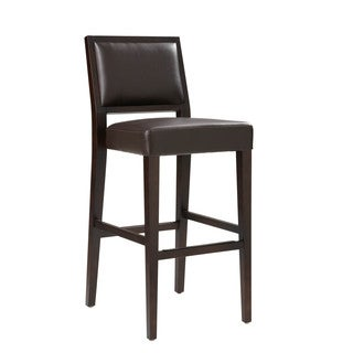 Sunpan '5West' Citizen Bonded Leather Bar Stool