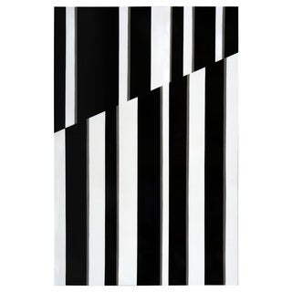 Sunpan 'Ikon' Contrast Layers 40 x 60-inch Wall Art