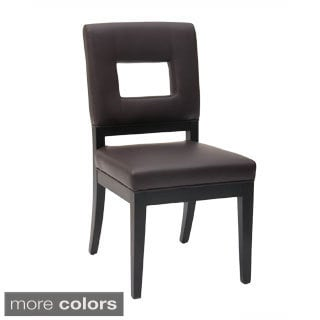 Sunpan '5West' Element Bonded Leather Dining Chairs (Set of 2)