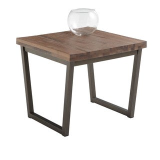 Sunpan Porto Distressed End Table