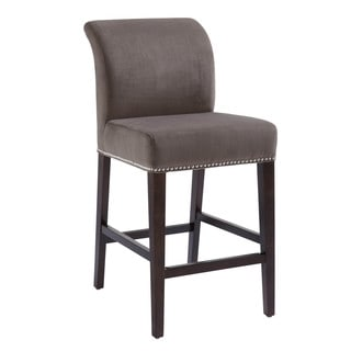 "Sunpan '5West' Prado Grey Fabric 26"" Counter Stool"