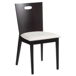 Sunpan Spencer Faux Leather Dining Chairs (Set of 2)