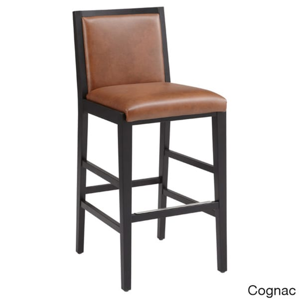 Sunpan Thompson Bonded Leather Barstool Free Shipping  : Sunpan Thompson Bonded Leather Barstool 353c61c1 0fca 45d2 b86b 04c12a430283600 from www.overstock.com size 600 x 600 jpeg 12kB