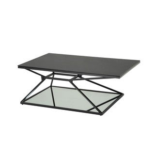 Sunpan Wedge Black Coffee Table