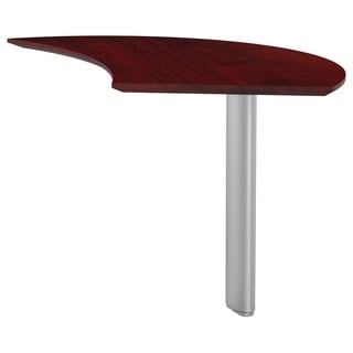 Mayline Medina Right Handed Curved Desk Extension