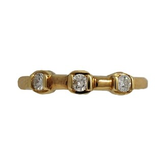 Kabella Luxe 14k Yellow Gold Three Stone Diamond Band Ring 1/5ct - White|https://ak1.ostkcdn.com/images/products/9219603/P16388337.jpg?_ostk_perf_=percv&impolicy=medium