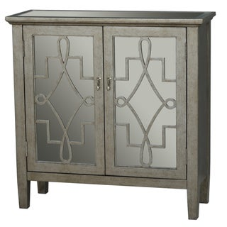 Hand Painted Distressed Silver Leaf Mirrored Finish Accent Chest|https://ak1.ostkcdn.com/images/products/9219709/P16388385.jpg?_ostk_perf_=percv&impolicy=medium
