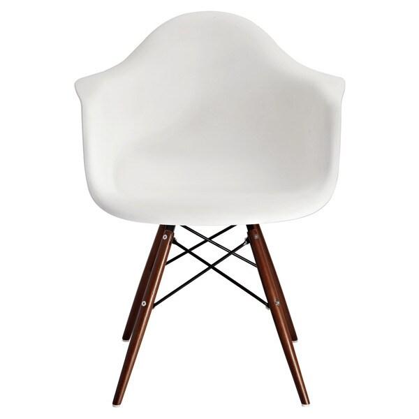 American Atelier Design Guild Living White Banks Chair