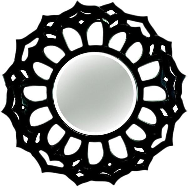 Fleur De Lis Decorative Wall Mirror