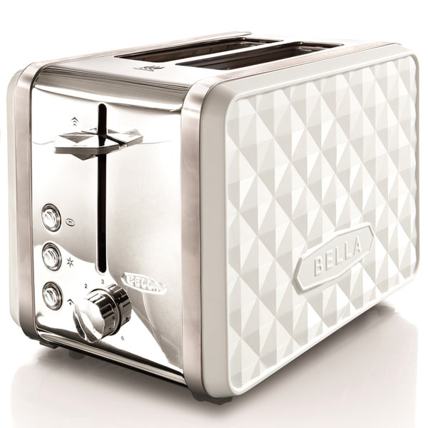 Bella Diamonds Coffee Maker Red : Bella Diamond White 2-slice Toaster - Free Shipping On Orders Over USD 45 - Overstock.com - 16388925