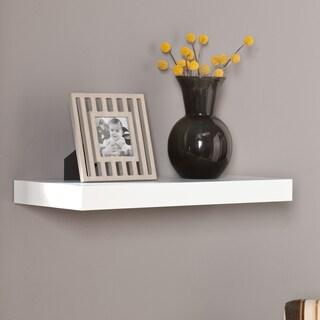 Clay Alder Home Harper Blvd Vera White 24-inchFloating Shelf