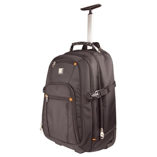 "Urban Factory Carrying Case (Backpack) for 15.6"" Notebook, Travel Ess"