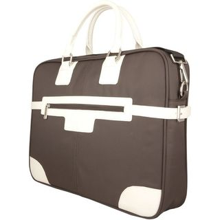 """Urban Factory Carrying Case for 16.1"""" Notebook, Accessories - Brown"""