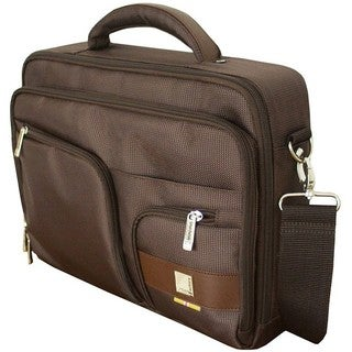 "Urban Factory 23489 Carrying Case (Briefcase) for 14.1"" Notebook - Br"