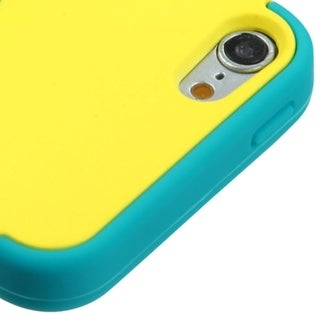 Insten Tuff Hard PC/ Silicone Dual Layer Hybrid Rubberized Matte Case Cover For Apple iPod Touch 5th/ 6th Gen