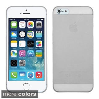INSTEN Frosted Clear Skin Phone Case Cover for Apple iPhone 5/ 5S/ SE