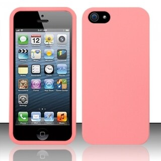 INSTEN Pattern Design Rubberized Hard Plastic Phone Case Cover for Apple iPhone 5/ 5S/ SE
