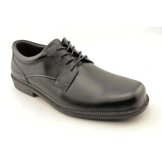 Hush Puppies Men's 'Strategy' Leather Dress Shoes - Wide (Size 14 )
