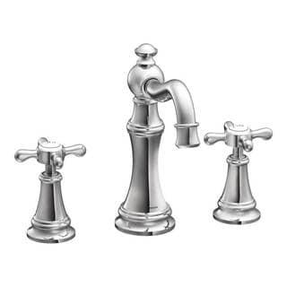 Moen Weymouth Chrome 2-handle High Arc Bathroom Faucet