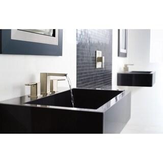 Moen 90 Degree Two-Handle Bathroom Faucet TS6720BN Brushed Nickel