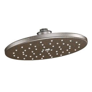 Moen Waterhill Oil Rubbed Bronze One-function 10-inch Diameter Spray Head Rainshower Showerhead