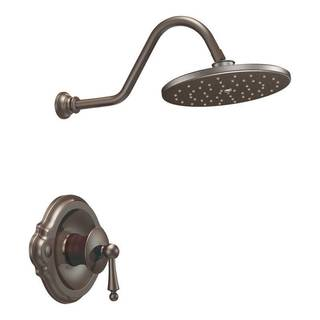 Moen Waterhill Oil Rubbed Bronze Bathroom Faucet Set for Posi-Temp Shower Only