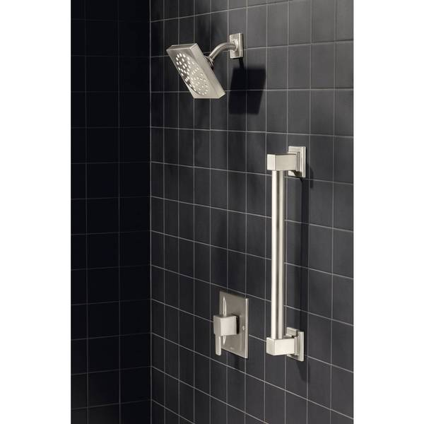moen moentrol 90 degree brushed nickel shower only free shipping